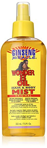 Ginseng Miracle Wonder 8 Oil Hair & Body Mist 222 ml/7.5 oz.