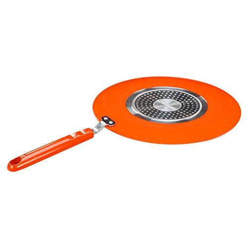 Nirlon Ceramic Cookware Set, 3-Pieces, Orange (CC_CT_GP_Cas22)