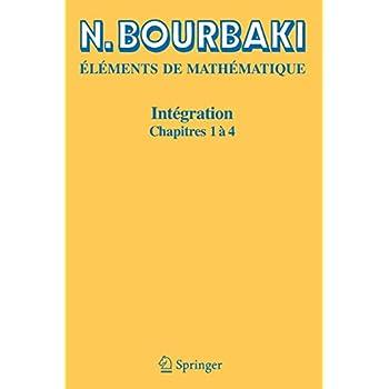 Intégration, chapitres 1 à 4