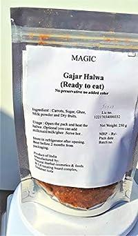 Magic Gajar Halwa Ready to eat no Preservative Pack of 250 g