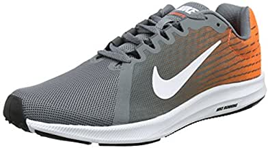 Nike Herren Downshifter 8 Laufschuhe, Grau (Cool Grey/White-Hyper Crimson-Dark Grey 003), 38.5 EU