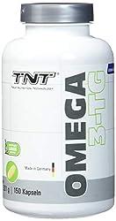 TNT True Nutrition Technology Omega 3 Kapseln Hochdosiert – Reines Fischöl mit EPA & DHA ohne Zusätze – Omega 3 Fettsäuren / 150 Caps