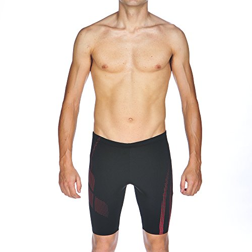 ARES5 Herren Arena Trainings Shadow Jammer Badehose black-Red