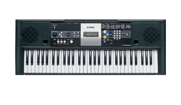3e00ed6022d Yamaha PSR-E323 61-key Touch Sensitive Portable Keyboard with 482 Voices:  Amazon.co.uk: Musical Instruments