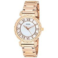 Guess Womens Quartz Watch, Analog Display and Stainless Steel Strap W0831L2