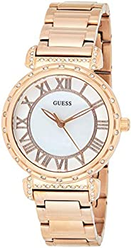Guess South Hampton Women's Mother of Pearl Dial Stainless Steel Watch - W08