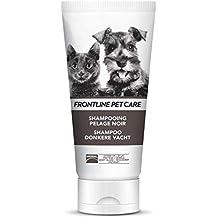 Frontline Primera línea Pet Atención Negro Escudo champú para Perros y Gatos ...
