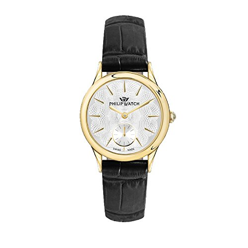 PHILIP WATCH Womens Analogue Quartz Watch with Leather Strap R8251596503