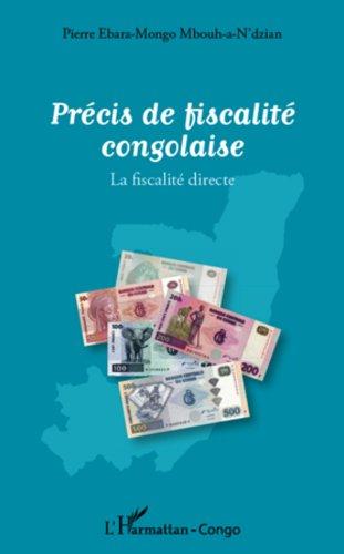 Livres gratuits Précis de fiscalité congolaise: La fiscalité directe pdf ebook