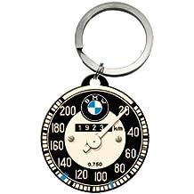 Nostalgic-Art 48016 BMW Tachometer, Schlüsselanhänger Rund, 4 cm