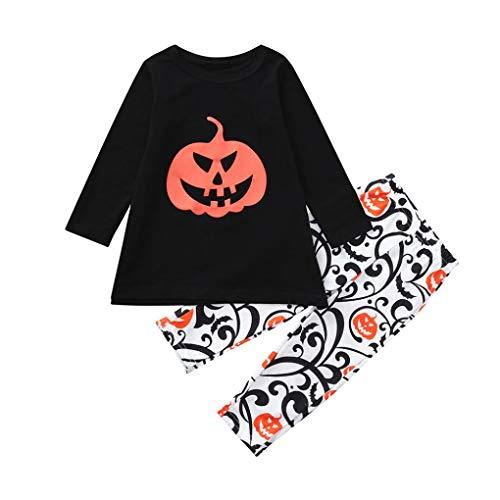 Halloween Kostüm,Halloween Kürbis Set Kostüm für Baby,Karneval Party -
