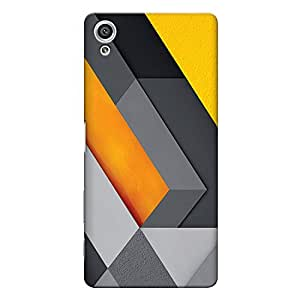 CrazyInk Premium 3D Back Cover for Sony Xperia X - ABSTRACT 3D ART