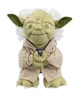 Star Wars Yoda Sprechende Plüschfigur aus 100 % Po