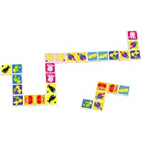 Tooky Toy - Domino Animales marinos - Juguete educativo de madera a partir de 18 meses