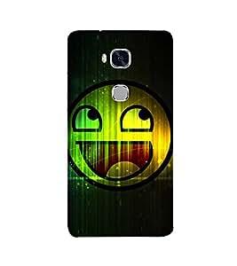 Fuson smiley face theme Designer Back Case Cover forHuawei Honor 5X :: Huawei Honor X5 :: Huawei Honor GR5 -P-1468
