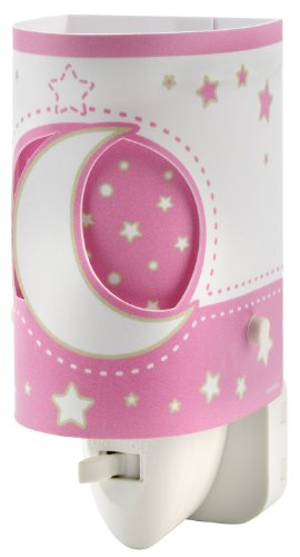 Dalber Nightlight 'Moon', Pink 63235L