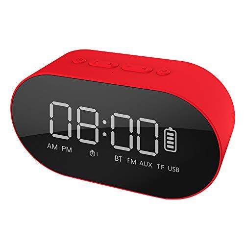 Byx- Bluetooth-Lautsprecher - Computer-Audio-Subwoofer-Steckkarte Wireless-Lautsprecher im Freien tragbarer Mini-Wecker Audio-Multi-Color-Optionen @ (Farbe : B)