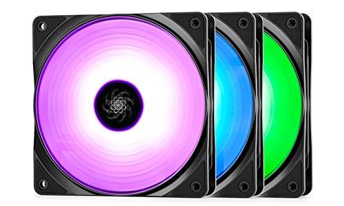 Deepcool RF120 56.5 CFM 120 mm Fans 3-Pack