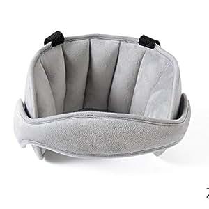 Kleinkind Autositz Hals Relief und Kopf Unterst/ützung Verstellbare Reise Sitzgurte Abdeckung Blau Komfortable Safe Neck Relief Kopfschutz G/ürtel f/ür Kleinkind