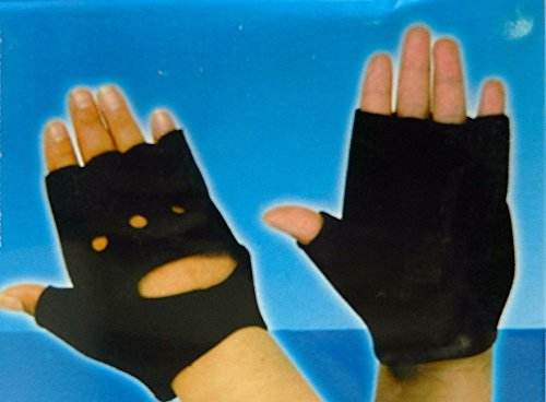 protege-main-doigt-paire-gants-interieurs-doigts-sport-mitaines-neoprene-noir