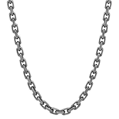 mens-solid-925-sterling-silver-35mm-diamond-cut-forzatina-chain-24-inch