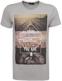 Sublevel Homme Hauts / T-Shirt Live Your Life