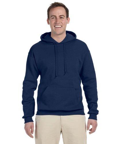 Wei§er Fu§ball auf American Apparel Fine Jersey Shirt True Navy (4XL)