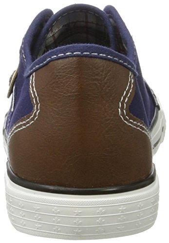 Rieker Damen M2212 Sneakers Blau (lake/brown / 14)