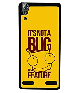 FUSON Designer Back Case Cover for Lenovo A6000 Plus :: Lenovo A6000+ :: Lenovo A6000 (Illustration Inspiration Change Motivate )