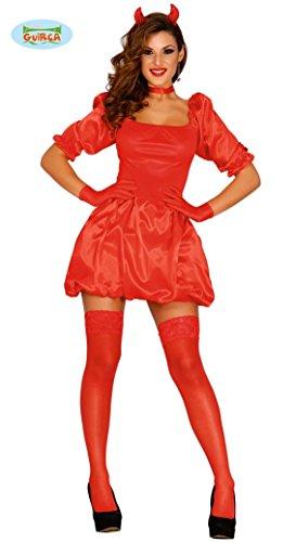 Preisvergleich Produktbild sexy Teufelin Kostüm für Damen Gr. S und M, Größe:M