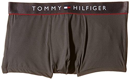Tommy Hilfiger Herren Boxershorts Microfiber low rise trunk flex, Gr. X-Large, Grau (MAGNET 884) (Low Rise Microfiber-slip)