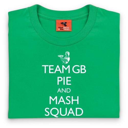 Team GB T-Shirt, Herren Keltisch-Grn