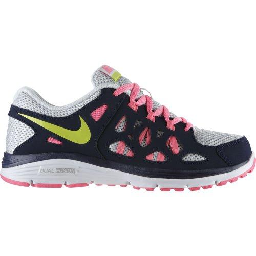 Nike , Chaussures de course pour garçon Noir - Negro / Gris / Rosa / Verde claro