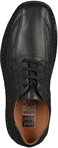 Josef Seibel43360-91600 Anvers 08 - Chaussures Plates Pour Homme Noir (noir)