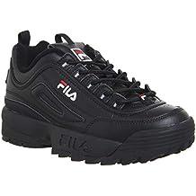 Fila Mujer Blanco Disruptor II Premium Zapatillas