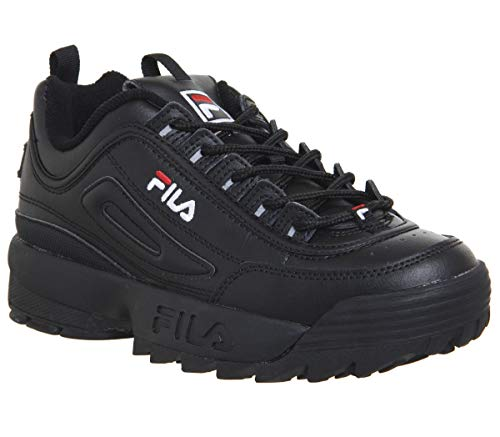 Fila Disruptor II Premium Uomo Sneaker Nero