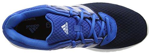 adidas Galaxy 2, Chaussures de Course Homme Bleu (Collegiate Navy/Ftwr White/Shock Blue)