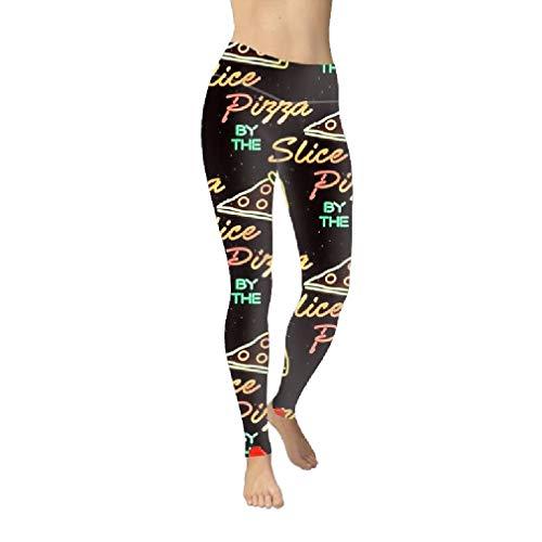 VITryst Women's Digital Print Active Fit Butt Lift Footless Tights Leggings Black S -