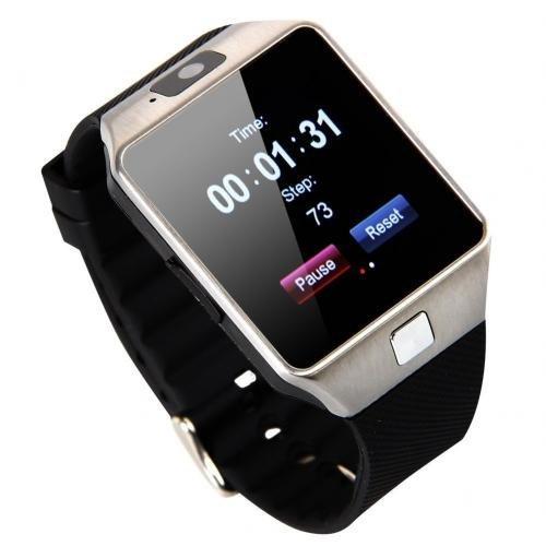 Zakk DZ-09 With Sim Card Slot Smart Watch Brown