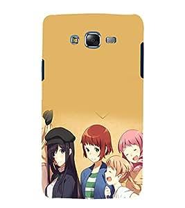 printtech Beautiful Anime Girls Back Case Cover for Samsung Galaxy Core i8262 / Samsung Galaxy Core i8260