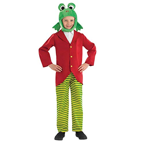 Herr Frog - Kinder Kostüm - Klein - 112cm - Alter 4-6