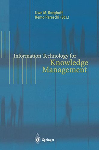 INFORMATION TECHNOLOGY FOR KNOWLEDGE MANAGEMENT