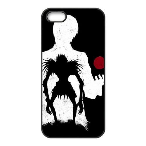 Death Note coque iPhone 5 5S Housse téléphone Noir de couverture de cas coque EBDXJKNBO11888