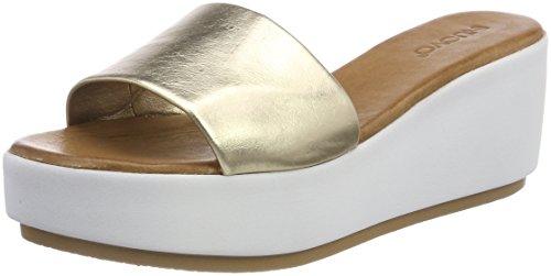 Inuovo Damen 8695 Zehentrenner Gold (Gold)