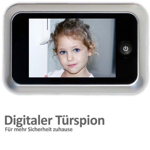 "Digitaler Türspion mit 3,5"" Farbdisplay"
