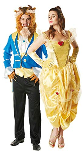 Herren & Damen Paar Märchen Belle Disney Die -