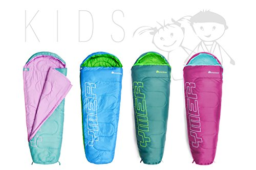 Mountain Warehouse Apex Mini gemusterter Schlafsack leicht Fr/ühling-Schlafsack Erwachsener Jugend Kinder KleinkindFestival Camping Urlaub
