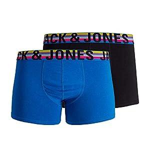41HL8RpKKyL. SS300  - Boxer Jack&Jones Hombre Multicolor 12138245 JACJARED Trunks 2 Pack