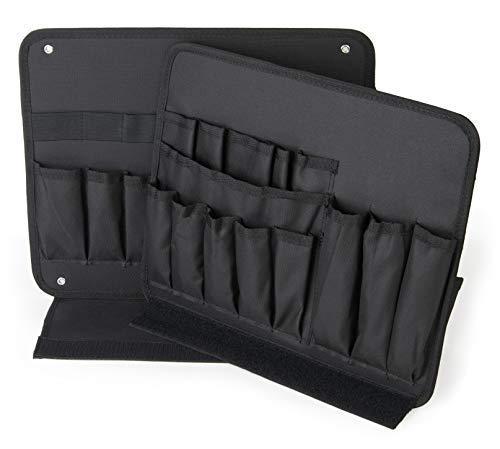Werkzeugkarte von L Boxx Bosch Sortimo | 2 Teiliges Set | 3 Seiten nutzbar | Passend für alle Bosch L BOXX Werkzeugkoffer | Ideale Deckeleinlage