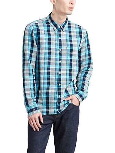 Camisa Levis Sunset MaxiCheck Azul Hombre XL Azul